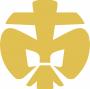 DPSG-Lilie-gold